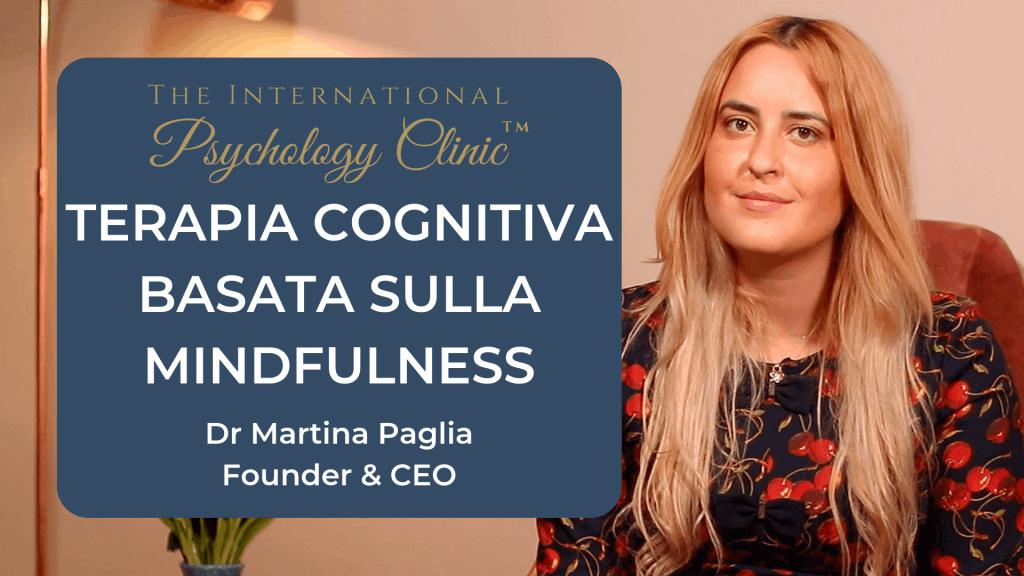 terapia cognitiva basata sulla mindfulness