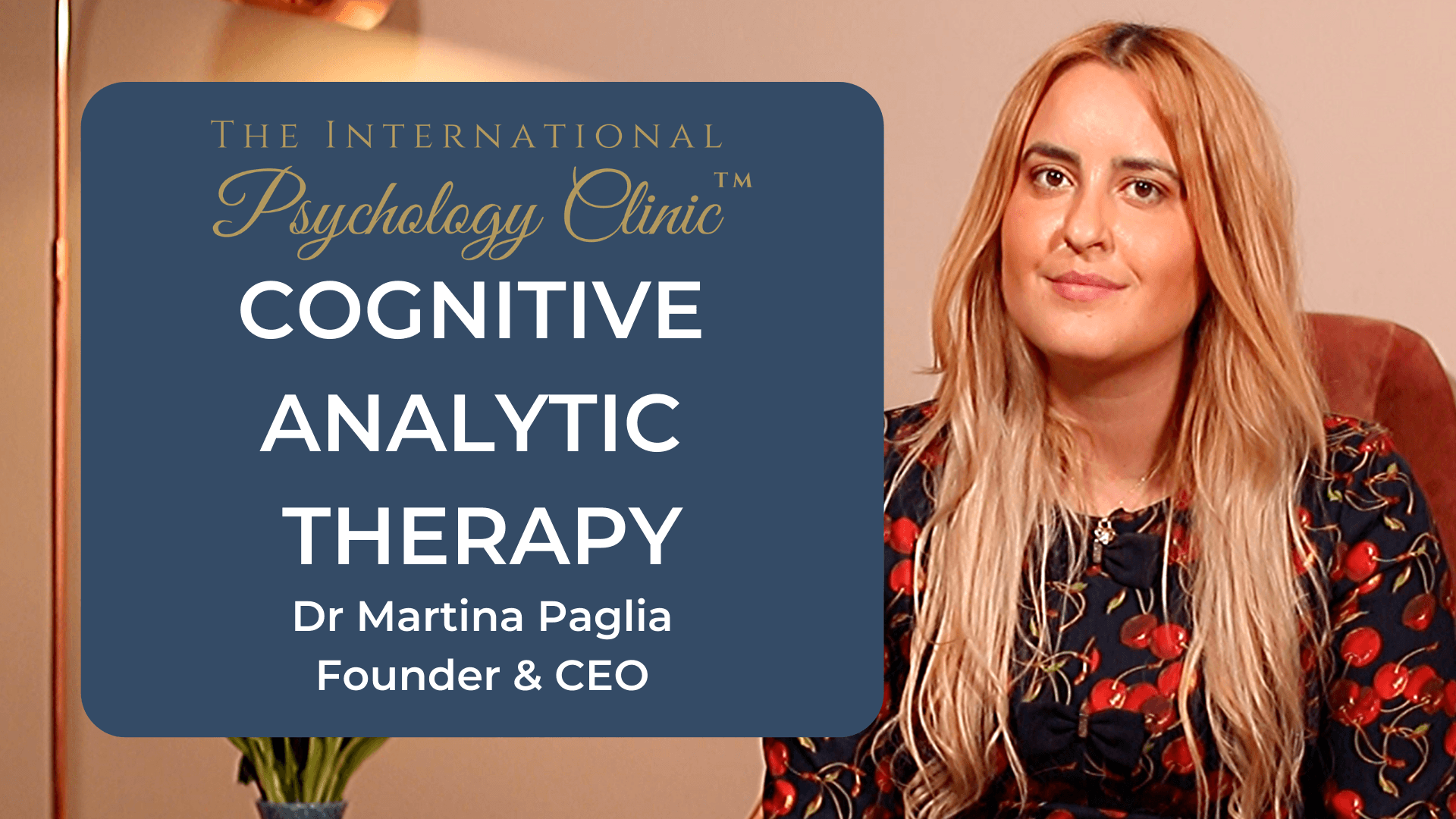 Cognitive Analytic Therapy